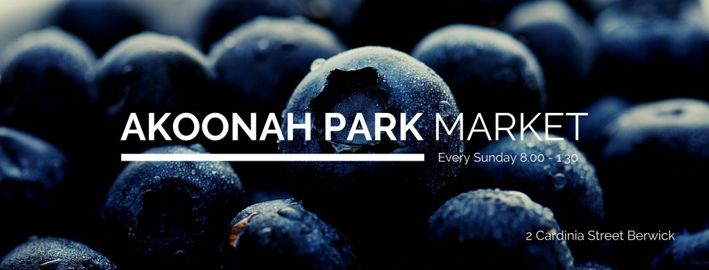Akoonah Park Market Event Cover